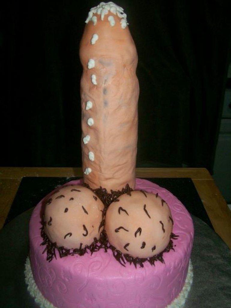 Порно с тортами видео